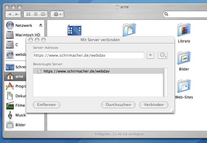 Mit WebDAV Verzeichnis verbinden - Info - Confluence